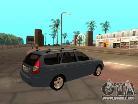 Lada Priora IVF para GTA San Andreas left