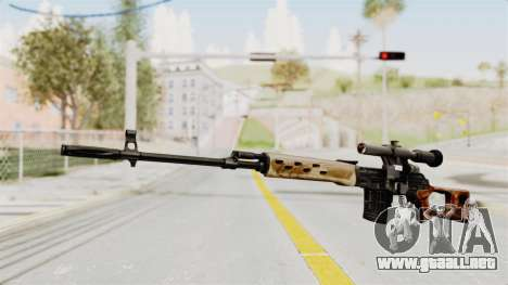 Sniper with New Realistic Crosshair para GTA San Andreas