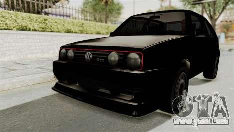 Volkswagen Golf 2 Tuning para GTA San Andreas