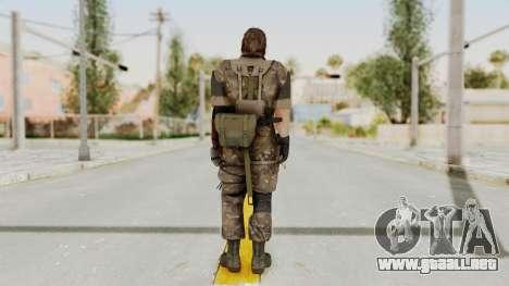 MGSV The Phantom Pain Venom Snake Wetwork para GTA San Andreas tercera pantalla
