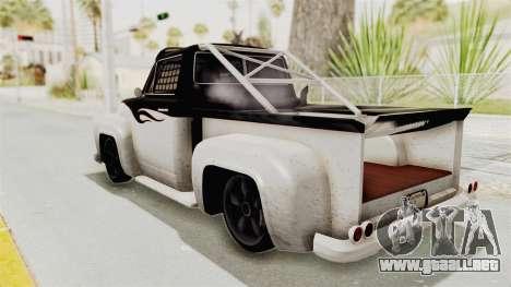 GTA 5 Slamvan Race PJ1 para la visión correcta GTA San Andreas