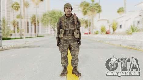 COD BO SOG Reznov v2 para GTA San Andreas segunda pantalla