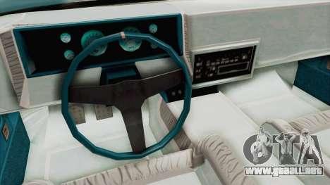 GTA 5 Dundreary Virgo Classic Custom v3 para vista lateral GTA San Andreas