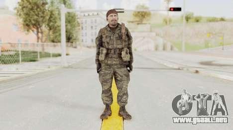 COD BO SOG Reznov v1 para GTA San Andreas segunda pantalla