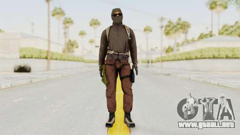 Battlefiled Hardline Professional Crime para GTA San Andreas segunda pantalla