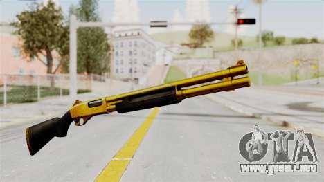 Remington 870 Gold para GTA San Andreas segunda pantalla