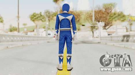 Mighty Morphin Power Rangers - Blue para GTA San Andreas tercera pantalla