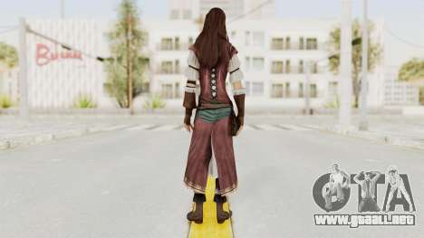 Assassins Creed Brotherhood - Courtesan para GTA San Andreas tercera pantalla