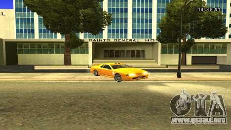 Colormod Easy Life by roBB1x para GTA San Andreas sucesivamente de pantalla
