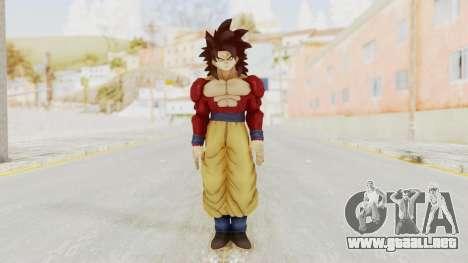 Dragon Ball Xenoverse Goku SSJ4 para GTA San Andreas segunda pantalla