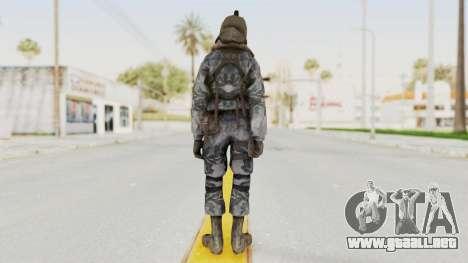COD 4 Custom Russian Soldier para GTA San Andreas tercera pantalla