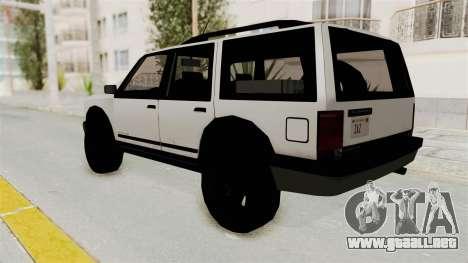 Dundreary Landstalker 1992 para GTA San Andreas left