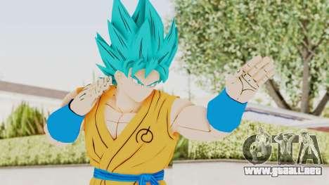 Dragon Ball Xenoverse Goku SSGSS V2.0 para GTA San Andreas