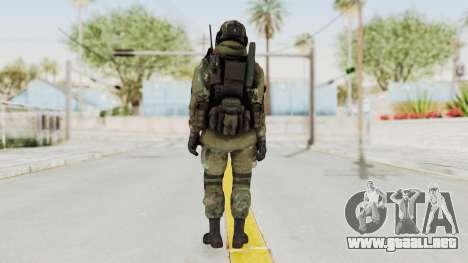 Advanced Warfare North Korean Assault Soldier para GTA San Andreas tercera pantalla
