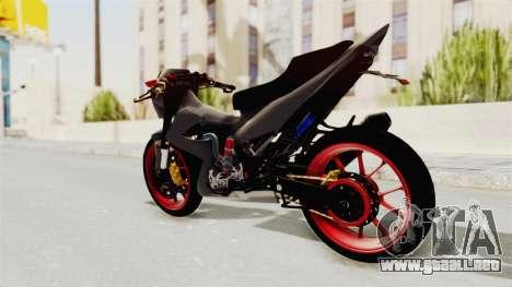 Satria FU 150 Modif FU 250 Superbike para GTA San Andreas left