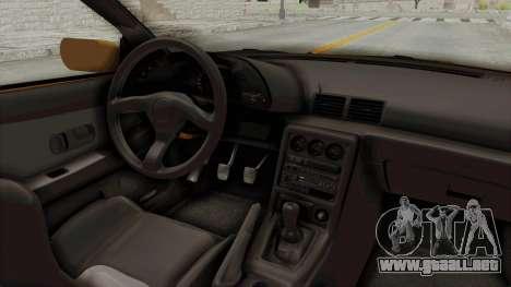 Nissan Skyline R32 4 Door Taxi para visión interna GTA San Andreas