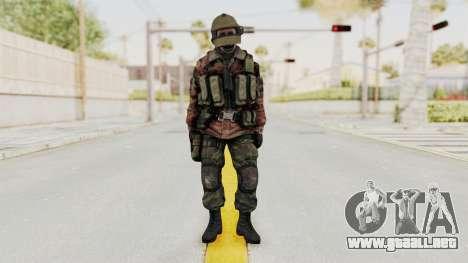 Battery Online Russian Soldier 10 v2 para GTA San Andreas segunda pantalla