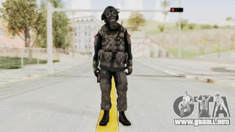 CoD MW3 Russian Military LMG Black para GTA San Andreas segunda pantalla