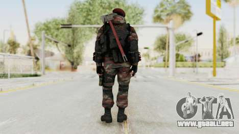 Battery Online Russian Soldier 1 v2 para GTA San Andreas tercera pantalla