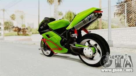 Ducati 998R Modif Stunt para GTA San Andreas left