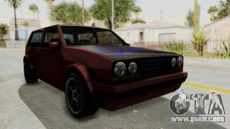 BF Club v2 para la visión correcta GTA San Andreas