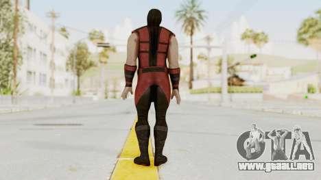 Mortal Kombat X Klassic Ermac para GTA San Andreas tercera pantalla