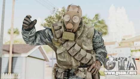 COD BO Russian Spetznas Flak MP v4 para GTA San Andreas
