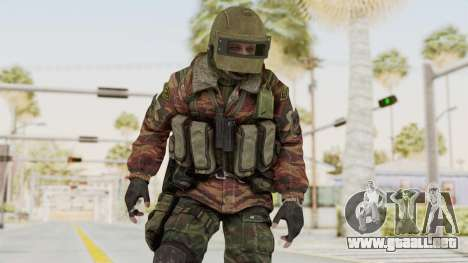 Battery Online Russian Soldier 10 v2 para GTA San Andreas