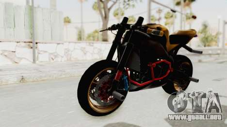 Honda CBR1000RR Naked Bike Stunt para la visión correcta GTA San Andreas