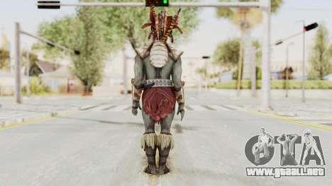 Mortal Kombat X - Kotal Kahn para GTA San Andreas tercera pantalla