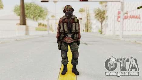 Battery Online Russian Soldier 7 para GTA San Andreas segunda pantalla
