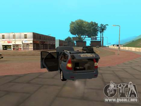 Lada Priora IVF para la visión correcta GTA San Andreas