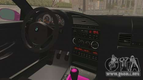 BMW M3 E36 Beauty para visión interna GTA San Andreas