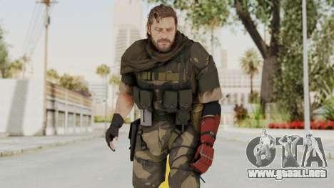 MGSV The Phantom Pain Venom Snake Sc No Patch v4 para GTA San Andreas