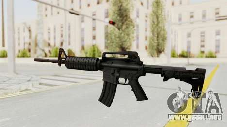 HD M4 v1 para GTA San Andreas segunda pantalla