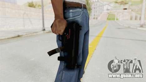M5K para GTA San Andreas tercera pantalla