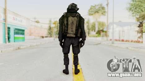 COD MW2 Shadow Company Soldier 1 para GTA San Andreas tercera pantalla