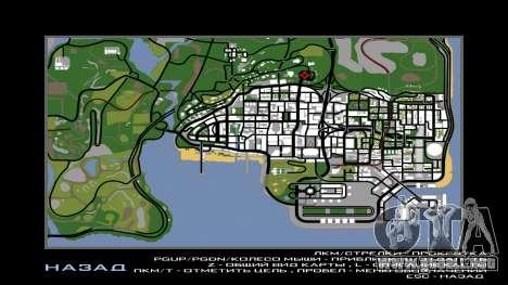 New Vinewood Russia para GTA San Andreas sucesivamente de pantalla