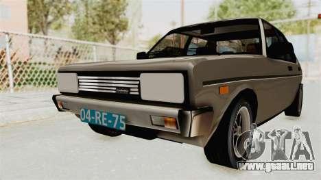 Fiat 131 Supermirafiori 1977 para la visión correcta GTA San Andreas