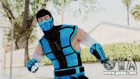 Mortal Kombat X Klassic Sub Zero UMK3 v2 para GTA San Andreas