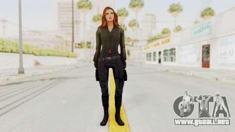 Captain America Civil War - Black Widow para GTA San Andreas segunda pantalla