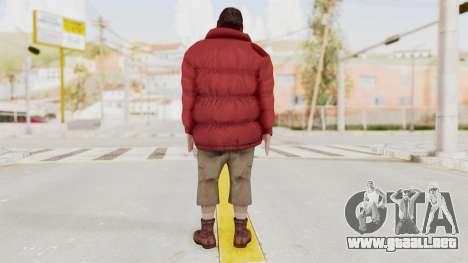 Alan Wake - Barry Wheele para GTA San Andreas tercera pantalla