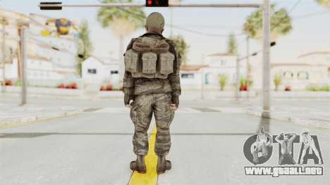 COD BO SOG Reznov v2 para GTA San Andreas tercera pantalla
