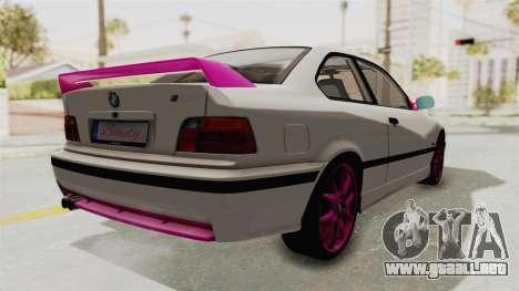 BMW M3 E36 Beauty para la visión correcta GTA San Andreas