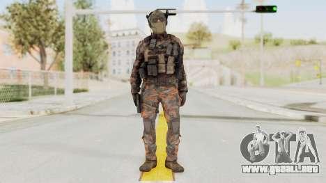 COD Black Ops 2 Cuban PMC 1 para GTA San Andreas segunda pantalla