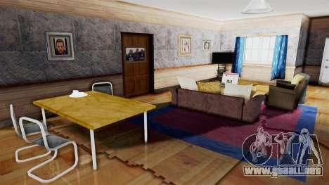 CJs House New Interior para GTA San Andreas quinta pantalla