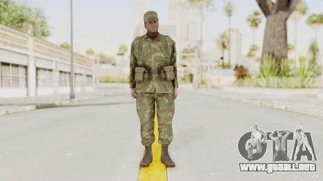 MGSV Ground Zeroes US Soldier Armed v1 para GTA San Andreas segunda pantalla