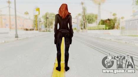 Captain America Civil War - Black Widow para GTA San Andreas tercera pantalla