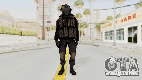 COD MW2 Shadow Company Soldier 1 para GTA San Andreas segunda pantalla