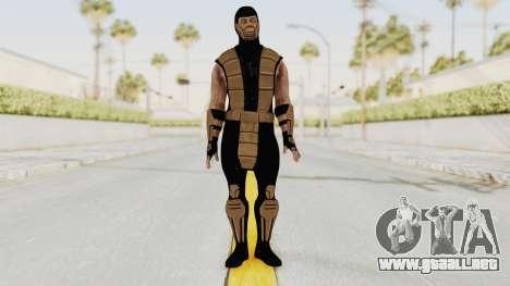 Mortal Kombat X Klassic Tremor para GTA San Andreas segunda pantalla
